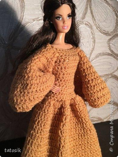 Платье для Barbie крючком фото 21