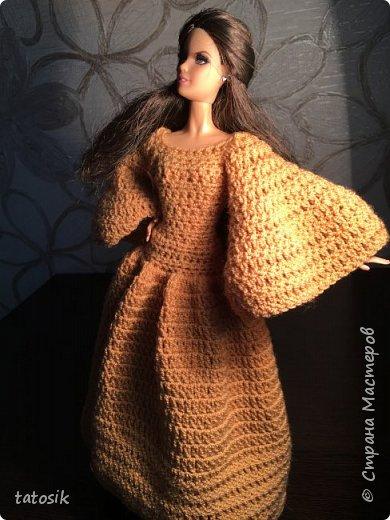 Платье для Barbie крючком фото 22