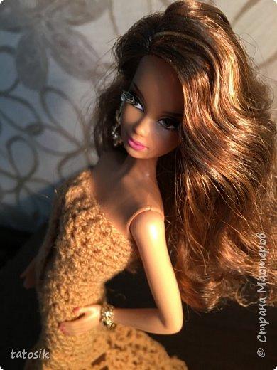 Платье для Barbie крючком фото 1
