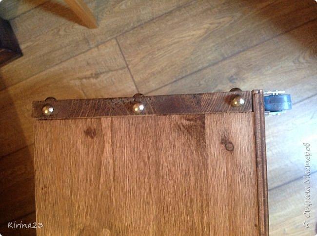 Здравствуйте , мастера и мастерицы! Это  третья попытка в изготовлении мебели( мебели- громко сказано ). Первая здесь http://stranamasterov.ru/node/1017100 Здесь вторая http://stranamasterov.ru/node/1029115 фото 11
