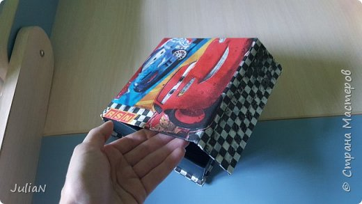 Коробка Молния Маккуин фото 2