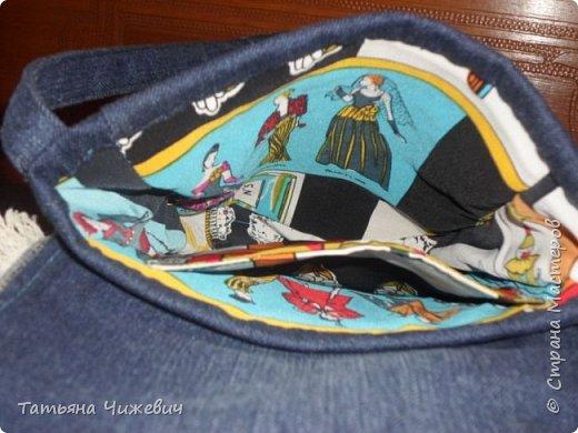Джинсовая сумочка фото 4