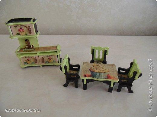 Кукольная мебель из последнего фото 2