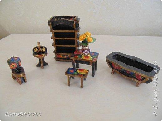 Кукольная мебель из последнего фото 4