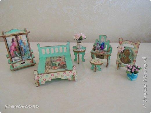 Кукольная мебель из последнего фото 8