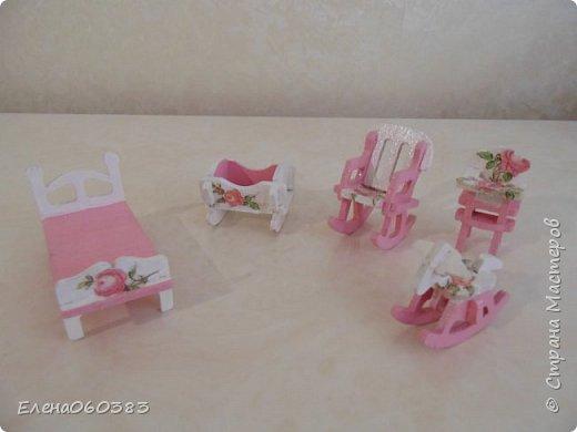 Кукольная мебель из последнего фото 12