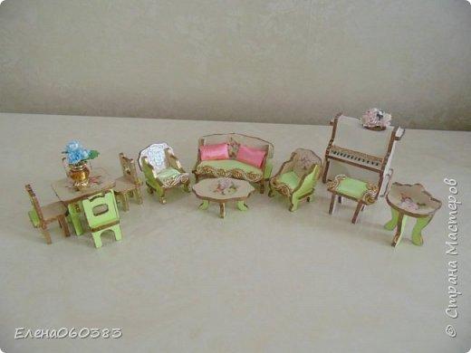 Кукольная мебель из последнего фото 15