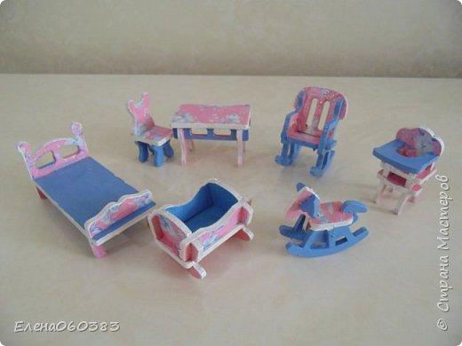Кукольная мебель из последнего фото 16