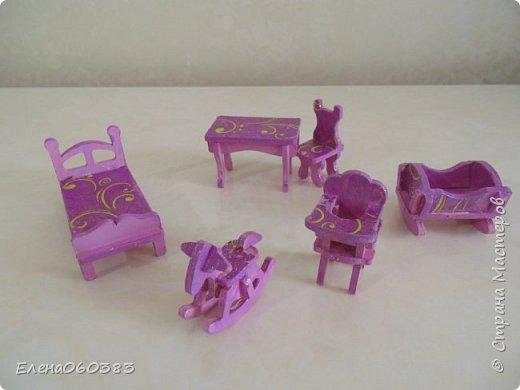 Кукольная мебель из последнего фото 17