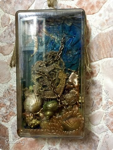 Коробка -сувенир с морским мотивом фото 1