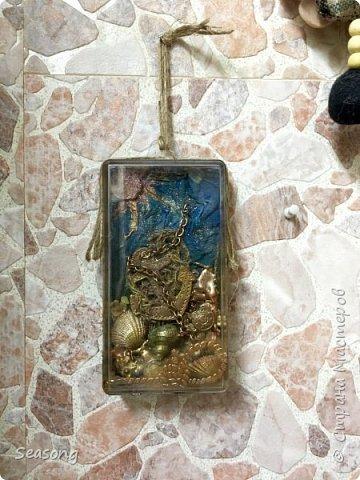 Коробка -сувенир с морским мотивом фото 5