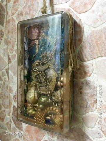 Коробка -сувенир с морским мотивом фото 4