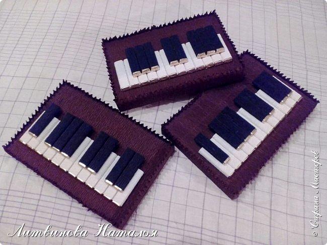 """Любит народ клавиши.....И я их люблю делать..... В составе:  коробка 200гр """"Мерси"""", 100гр """"Марсианка, 3шт """"Dolche Alberto""""  и 5шт """"Шарлет"""" фото 9"""