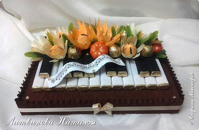 """Любит народ клавиши.....И я их люблю делать..... В составе:  коробка 200гр """"Мерси"""", 100гр """"Марсианка, 3шт """"Dolche Alberto""""  и 5шт """"Шарлет"""" фото 5"""