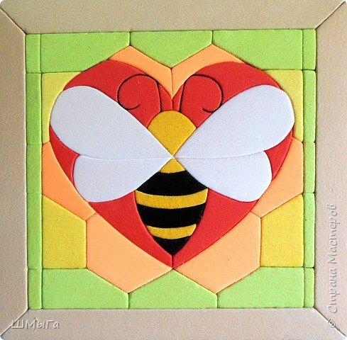 И снова главным героем моих картинок является Пчелка. фото 4
