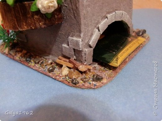 Всем привет!!! Этот домик сделала еще по весне...поставила на кухню и совсем забыла про него....Надо вам показать. что б ему не обидно было... фото 8