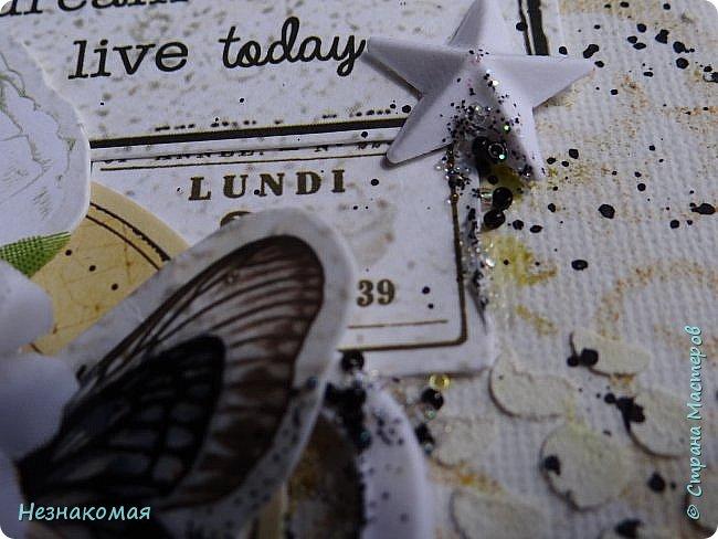 Всем доброго времени!  Сегодня у меня два холста размером 18х24. Небольшие размерчики, но вроде все впихнула в них что запланировала. Первый такой - про любовь и бабочек. фото 11