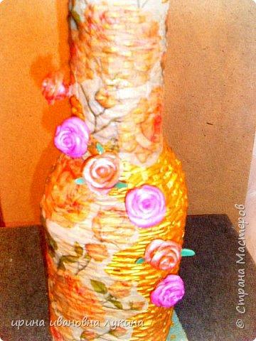 напольная ваза из газетных трубочек фото 4