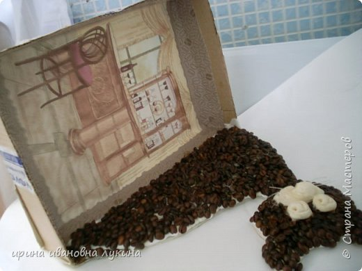 коробочка под чайные принадлежности фото 4
