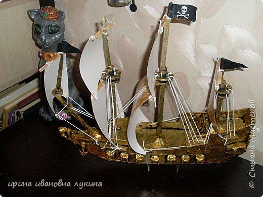 мои корабли из картона фото 1