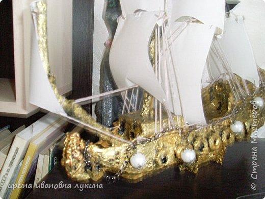 мои корабли из картона фото 5