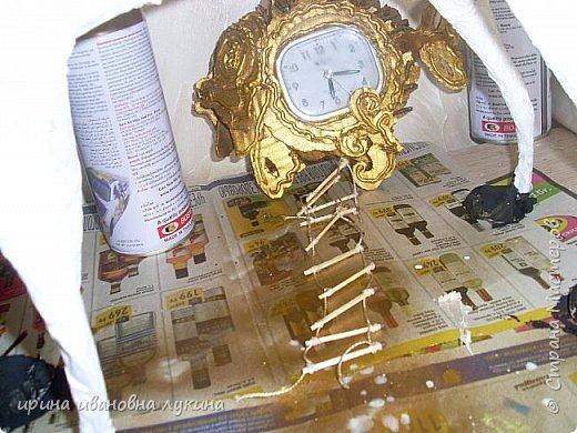 проволочный каркас обклеила кусочками газыт фото 5