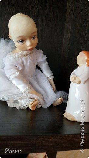 И появился новый ангелочек. По имени Аркадия. Аркаша. А ласково: Аркашенька. Почему так? Да только лишь потому, что так захотела милая женщина, попросившая сделать ей нежного Ангела. фото 6
