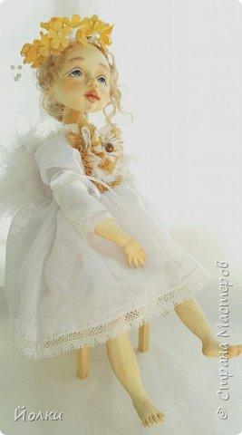 И появился новый ангелочек. По имени Аркадия. Аркаша. А ласково: Аркашенька. Почему так? Да только лишь потому, что так захотела милая женщина, попросившая сделать ей нежного Ангела. фото 4