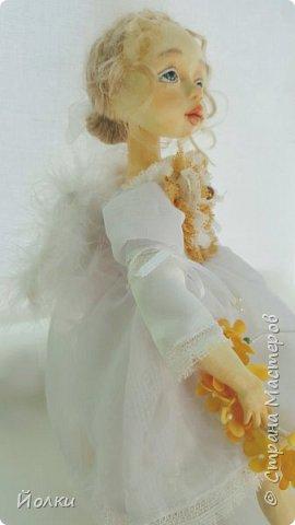И появился новый ангелочек. По имени Аркадия. Аркаша. А ласково: Аркашенька. Почему так? Да только лишь потому, что так захотела милая женщина, попросившая сделать ей нежного Ангела. фото 1