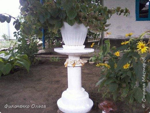 Садовая поделка фото 1