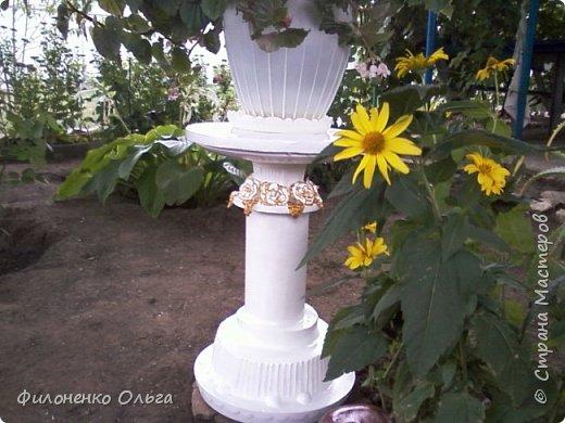 Садовая поделка фото 2