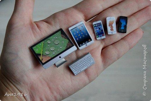 iMac, iPad и iPhone для кукол