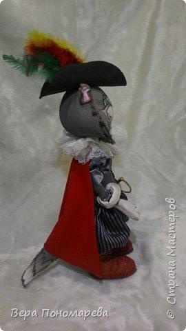 И снова здравствуйте! Представляю вам новую игрушку, выполненную по МК Анастасии Голеневой. Мой Кот в сапогах. фото 2