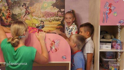 В этом году  день рождения доченьки было решено отмечать дома узким семейным кругом... Роль аниматора/организатора взяла на себя я, и вот что из этого получилось фото 31