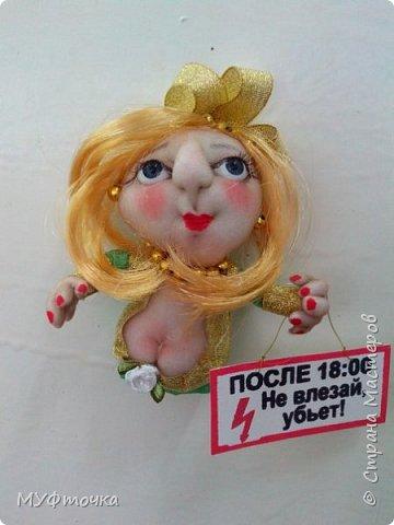 И снова куклы из капрона))) фото 4