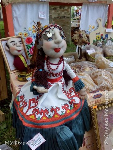 И снова куклы из капрона))) фото 2