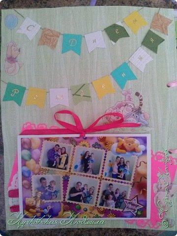 Мой первый альбом! Сделала для доченьки Софии. Насмотрелась на красоту в СМ и на просторах интернета, вот и решила сама заняться.  Прошу строго не судить)))   фото 47