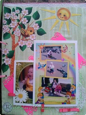 Мой первый альбом! Сделала для доченьки Софии. Насмотрелась на красоту в СМ и на просторах интернета, вот и решила сама заняться.  Прошу строго не судить)))   фото 46
