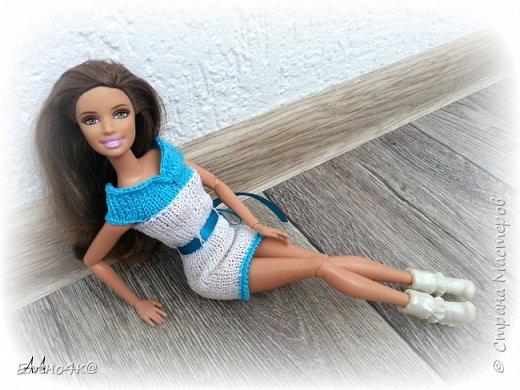 Добрый день, куклолюбители!!! Открыла для себя одну новую вещь: куклы - это болезнь))) У меня опять пополнение коллекции: Barbie Fashionistas Sassy and Sweety (2010) Назвала эту девочку Холли фото 5