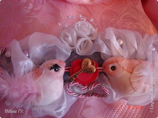 Здравствуйте, дорогие соседи! Сегодня у меня свадебный пост.   Этот плюшевый букет делала на свадьбу племяннице мужа. фото 12