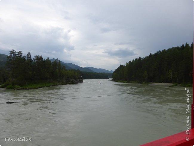 29 июля мы совершили поход к Камышлинскому водопаду, расположенному на реке Камышла, являющейся левым притоком Катуни. Этот водопад - памятник природы Республики Алтай с 1996 года. фото 4