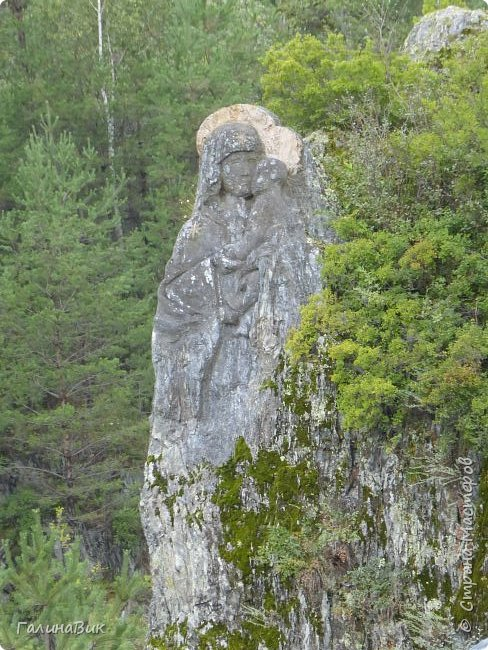 29 июля мы совершили поход к Камышлинскому водопаду, расположенному на реке Камышла, являющейся левым притоком Катуни. Этот водопад - памятник природы Республики Алтай с 1996 года. фото 22