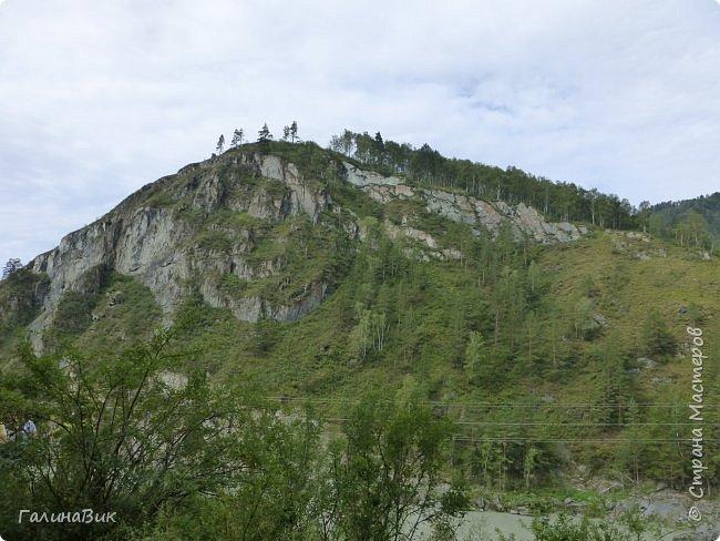 29 июля мы совершили поход к Камышлинскому водопаду, расположенному на реке Камышла, являющейся левым притоком Катуни. Этот водопад - памятник природы Республики Алтай с 1996 года. фото 23