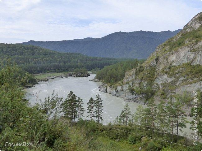 29 июля мы совершили поход к Камышлинскому водопаду, расположенному на реке Камышла, являющейся левым притоком Катуни. Этот водопад - памятник природы Республики Алтай с 1996 года. фото 27