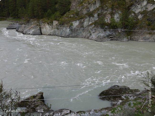 29 июля мы совершили поход к Камышлинскому водопаду, расположенному на реке Камышла, являющейся левым притоком Катуни. Этот водопад - памятник природы Республики Алтай с 1996 года. фото 29