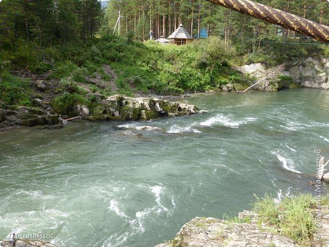 29 июля мы совершили поход к Камышлинскому водопаду, расположенному на реке Камышла, являющейся левым притоком Катуни. Этот водопад - памятник природы Республики Алтай с 1996 года. фото 33