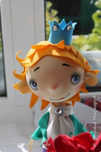 Маленький принц и его капризная роза!!!! Лицо нарисовано по мастер классу: Роспись мордочки, глаза и тд. http://stranamasterov.ru/node/699302 фото 1