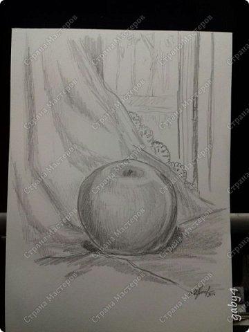 Всем привет, я тут исполнила свою мечту - поступила в заочный народный университет искусств(ЗНУИ), на факультет живописи. Причем, после просмотра моих работ - меня взяли аж на 3й курс сразу. Вот и взялась я за кисти. А с навыками тут вот как дело обстоит: поскольку учил меня художник-график, рука у меня, соответственно, поставлена на графику, а за краски я не бралась лет эдак пятнадцать, о как!  В общем, надавали мне заданий, которые я еще не сделала, обязательных и дополнительно сказали рисовать-рисовать-рисовать. Натюрморты, наброски... все, что придет в голову. Ну и вот, смотрите, критикуйте))) Перец и лимон. Акварель. фото 2