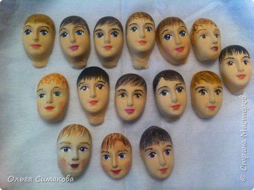 Недавно я получила удивительную посылку от Маши!)  http://stranamasterov.ru/user/388952 Невероятно красивые лица! И по моему, они все мальчики!) Как раз мальчиков я рисовать категорически не умею! А тут, такое счастье! фото 1
