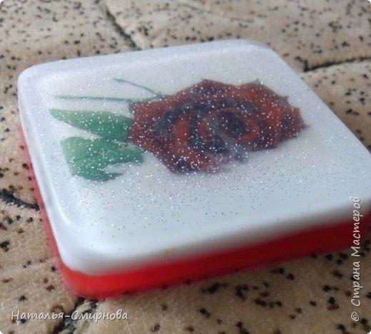 Здравствуйте! Понемногу продолжаю свои эксперименты в мыловарении. Мыло тортик. Аромат - эфирное масло апельсина фото 6